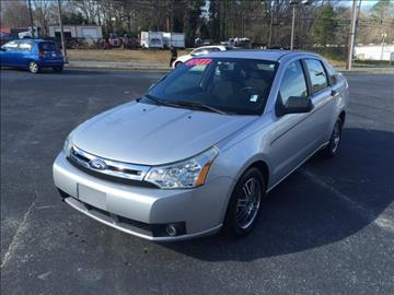 2011 Ford Focus for sale at Fast Auto Sales in Monroe GA