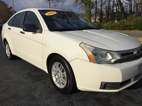 2009 Ford Focus for sale at Fast Auto Sales in Monroe GA