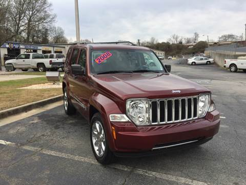 2008 Jeep Liberty for sale at Fast Auto Sales in Monroe GA