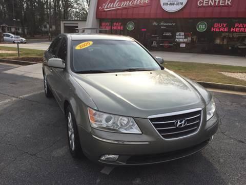 2009 Hyundai Sonata for sale at Fast Auto Sales in Monroe GA