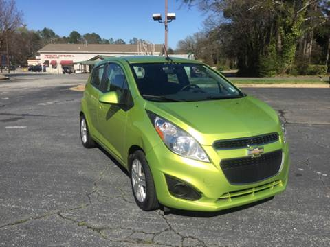 2013 Chevrolet Spark for sale at Fast Auto Sales in Monroe GA