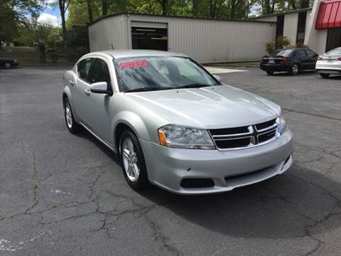 2012 Dodge Avenger for sale at Fast Auto Sales in Monroe GA