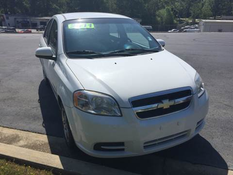 2011 Chevrolet Aveo for sale at Fast Auto Sales in Monroe GA