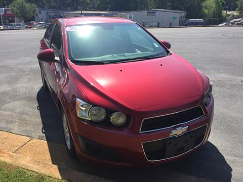 2012 Chevrolet Sonic for sale at Fast Auto Sales in Monroe GA