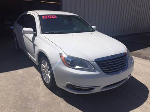 2014 Chrysler 200 for sale at Fast Auto Sales in Monroe GA