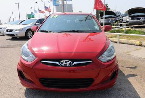 2014 Hyundai Accent for sale in Moore OK