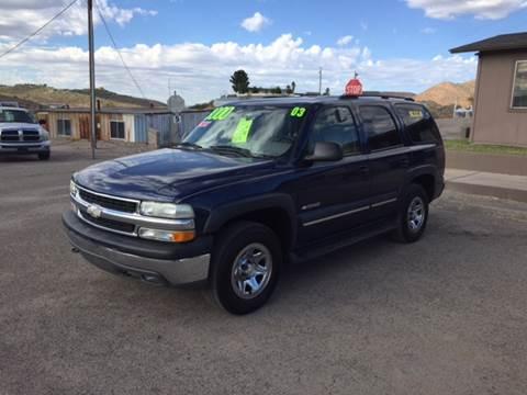 2003 Chevrolet Tahoe for sale in Globe, AZ