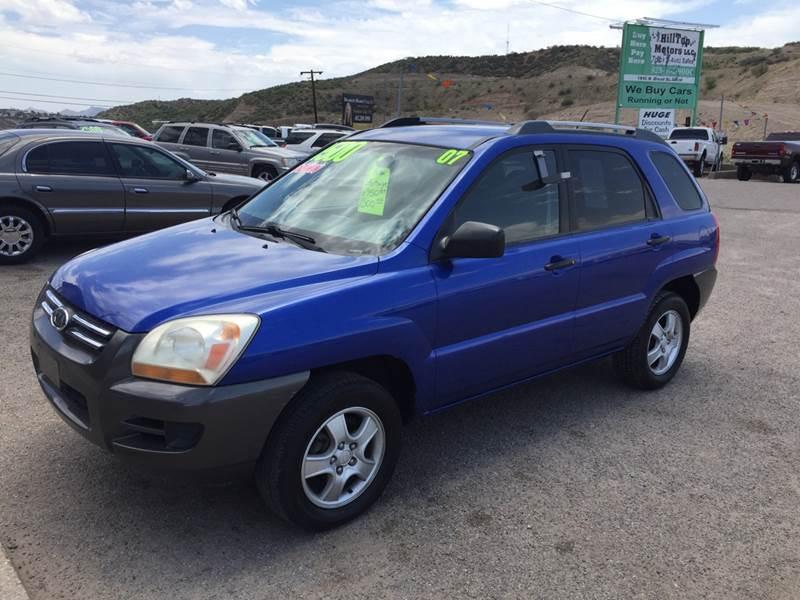 2007 Kia Sportage For Sale At Hilltop Motors In Globe AZ