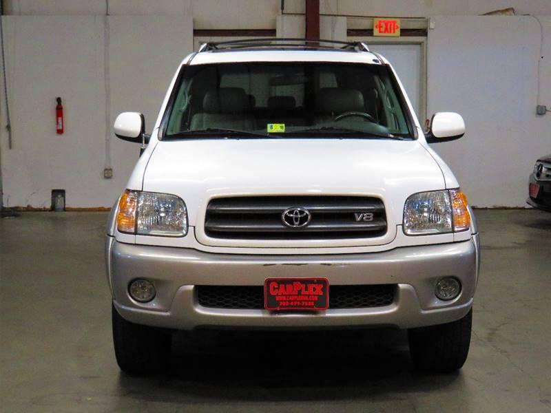 2003 Toyota Sequoia for sale at CarPlex in Manassas VA