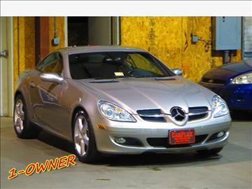 2005 Mercedes-Benz SLK for sale at CarPlex in Manassas VA