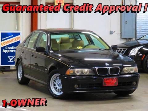 2001 BMW 5 Series for sale at CarPlex in Manassas VA