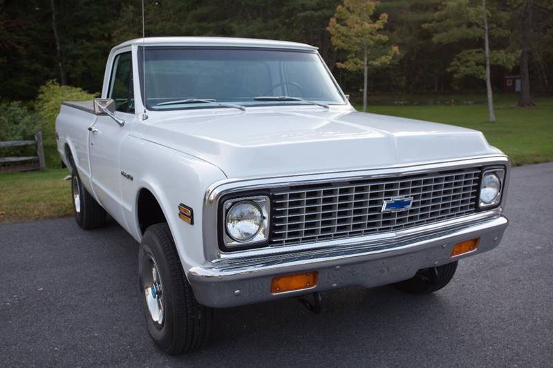 1972 Chevrolet C/K 10 Series for sale at Essex Motorsport, LLC in Essex Junction VT