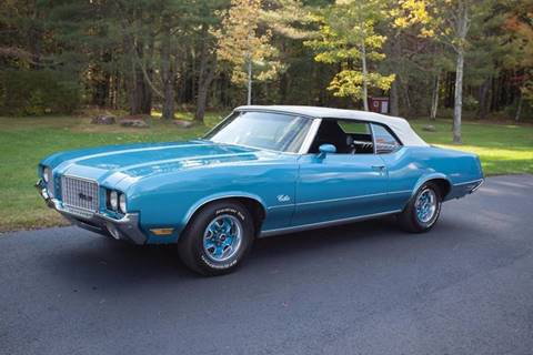 1972 Oldsmobile Cutlass Supreme for sale at Essex Motorsport, LLC in Essex Junction VT