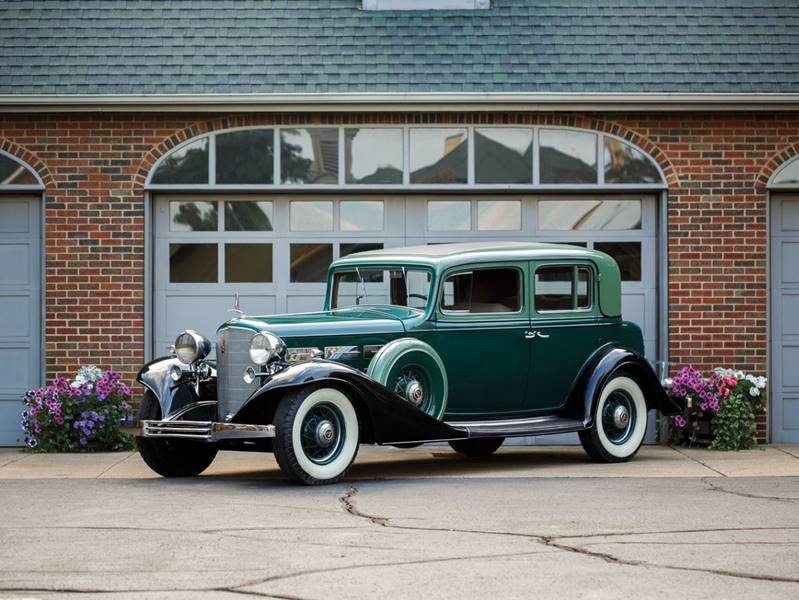 Top 1933 Cadillac V12 Town Sedan In Essex Junction VT - Essex  UQ75