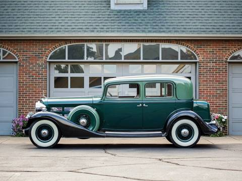 1933 Cadillac V12 Town Sedan for sale at Essex Motorsport, LLC in Essex Junction VT