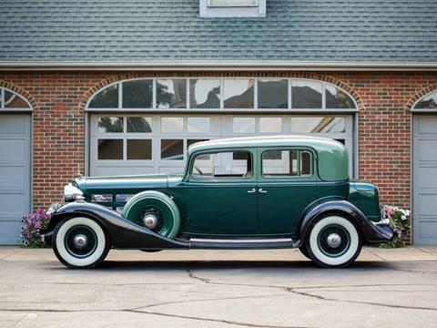 1933 Cadillac V12 Town Sedan for sale at Essex Motorsport, LLC in Essex Junction VT