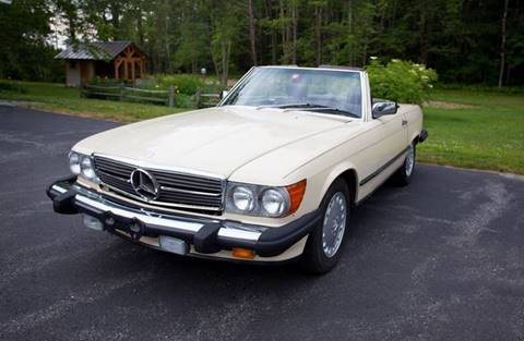 1986 Mercedes-Benz 560-Class for sale at Essex Motorsport, LLC in Essex Junction VT