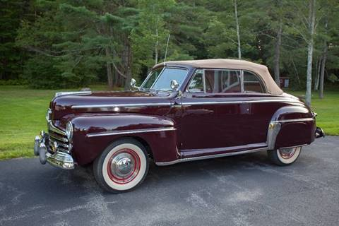 1947 Ford Super Deluxe for sale at Essex Motorsport, LLC in Essex Junction VT