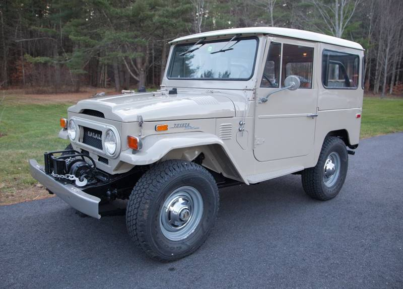 1972 Toyota Land Cruiser for sale at Essex Motorsport, LLC in Essex Junction VT