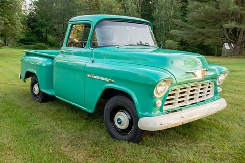 1955 Chevrolet 3100 for sale at Essex Motorsport, LLC in Essex Junction VT