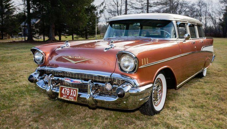 1957 Chevrolet Bel Air for sale at Essex Motorsport, LLC in Essex Junction VT