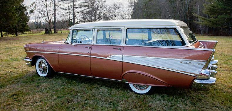 1957 Chevrolet Bel Air for sale at Essex Motorsport, LLC in Essex Junction VT