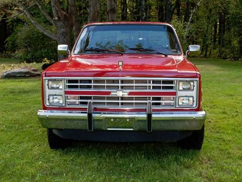 1987 Chevrolet R/V 10 Series for sale at Essex Motorsport, LLC in Essex Junction VT