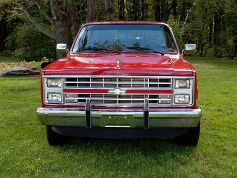 1987 Chevrolet R/V 10 Series for sale at Essex Motorsport, LLC in Essex Junction VT