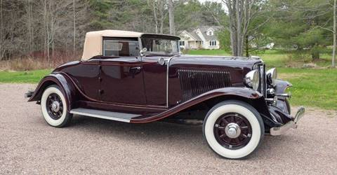 1931 Auburn 8-98 for sale at Essex Motorsport, LLC in Essex Junction VT