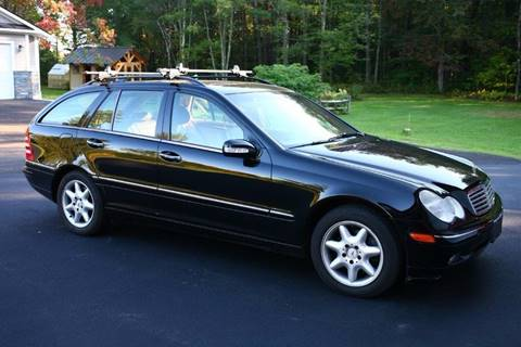 2004 Mercedes-Benz C-Class for sale at Essex Motorsport, LLC in Essex Junction VT