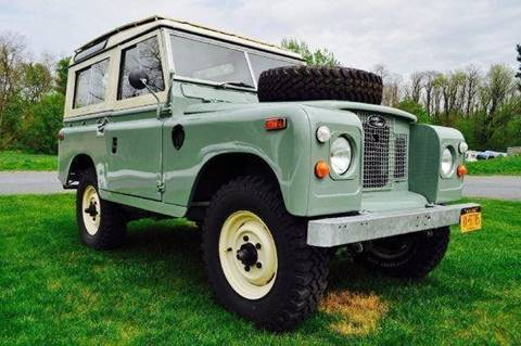 1970 Land Rover Series IIA for sale at Essex Motorsport, LLC in Essex Junction VT