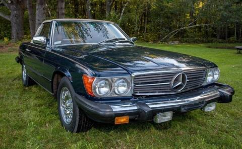 1981 Mercedes-Benz 380-Class for sale at Essex Motorsport, LLC in Essex Junction VT