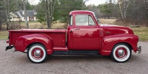 1953 Chevrolet 3100 for sale at Essex Motorsport, LLC in Essex Junction VT