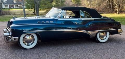 1950 Buick Roadmaster for sale at Essex Motorsport, LLC in Essex Junction VT