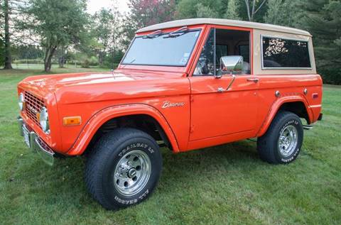 1973 Ford Bronco for sale at Essex Motorsport, LLC in Essex Junction VT