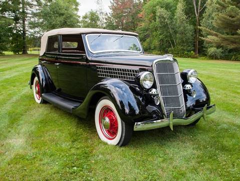 1935 Ford Convertible Sedan for sale at Essex Motorsport, LLC in Essex Junction VT