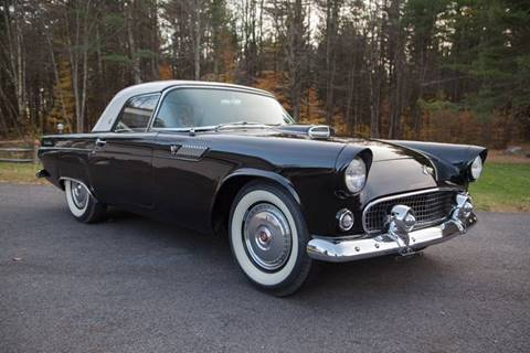 1955 Ford Thunderbird for sale at Essex Motorsport, LLC in Essex Junction VT