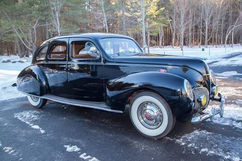 1938 Lincoln Zephyr for sale at Essex Motorsport, LLC in Essex Junction VT