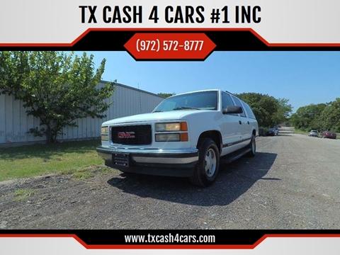 1999 GMC Suburban for sale in Seagoville, TX