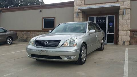 2003 Lexus LS 430 for sale at AMF Motors in Seagoville TX
