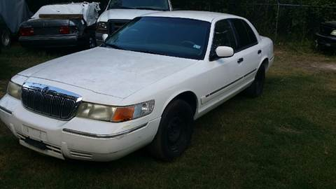 2000 Mercury Grand Marquis for sale at AMF Motors in Seagoville TX