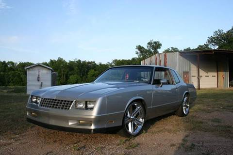 1985 chevrolet monte carlo for sale. Black Bedroom Furniture Sets. Home Design Ideas