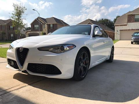 2017 Alfa Romeo Giulia for sale in Houston, TX