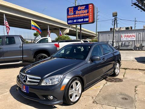 2010 Mercedes Benz C Class For Sale In Houston, TX
