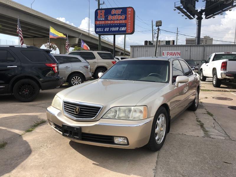 Acura RL In Houston TX HTOWN CAR SALES - Acura rl for sale