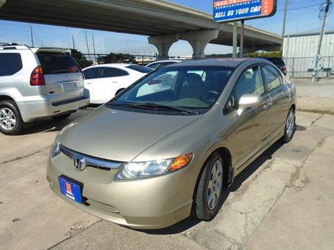 2008 Honda Civic for sale in Houston, TX