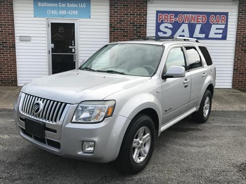 2008 Mercury Mariner Hybrid for sale in Baltimore, OH
