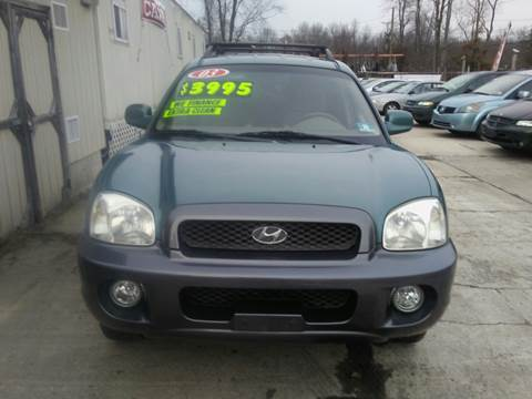 2003 Hyundai Santa Fe for sale in Monroe Township, NJ
