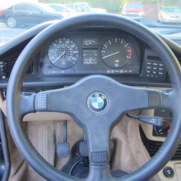 1988 BMW M5 for sale at North Point Motorcars Inc. in Suwanee GA
