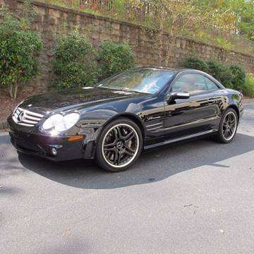 2005 Mercedes-Benz SL-Class for sale at North Point Motorcars Inc. in Suwanee GA